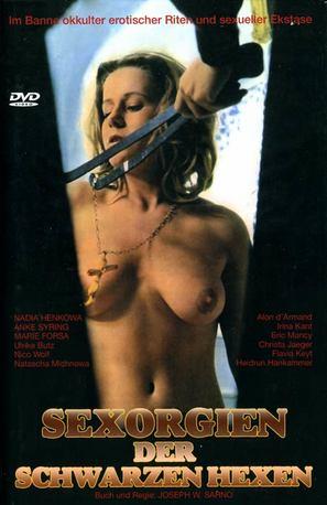 Der Fluch der schwarzen Schwestern - German DVD cover (thumbnail)