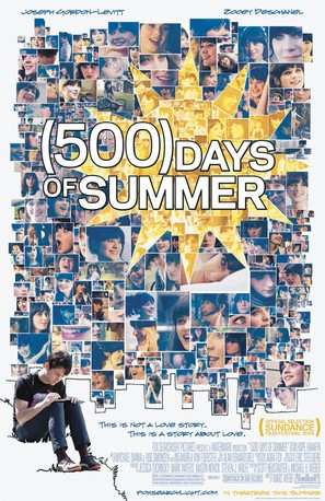 (500) Days of Summer - Movie Poster (thumbnail)