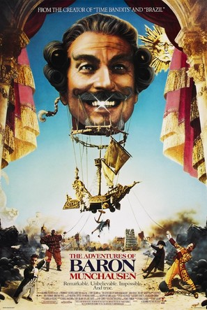The Adventures of Baron Munchausen - Movie Poster (thumbnail)