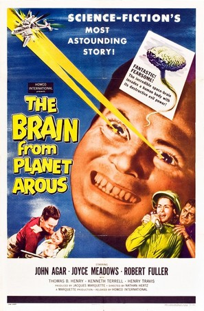 The Brain from Planet Arous - Movie Poster (thumbnail)