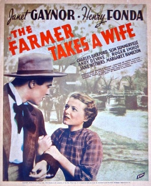 The Farmer Takes a Wife - Movie Poster (thumbnail)
