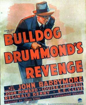 Bulldog Drummond's Revenge - Movie Poster (thumbnail)