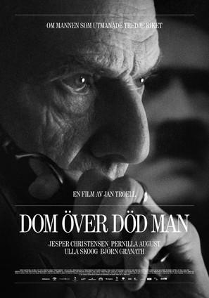 Dom över död man - Swedish Movie Poster (thumbnail)