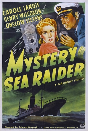 Mystery Sea Raider - Movie Poster (thumbnail)