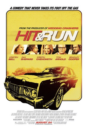 Hit and Run - Theatrical movie poster (thumbnail)