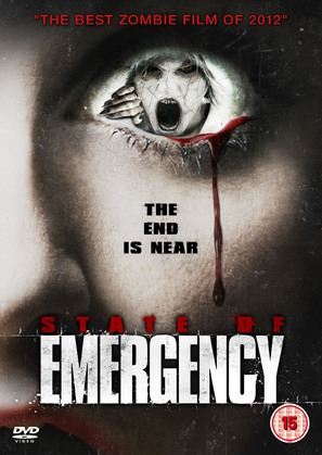 State of Emergency - British DVD cover (thumbnail)