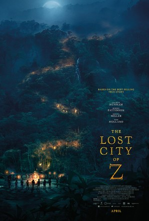 The Lost City of Z - Movie Poster (thumbnail)