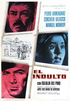 El indulto - Spanish Movie Poster (thumbnail)