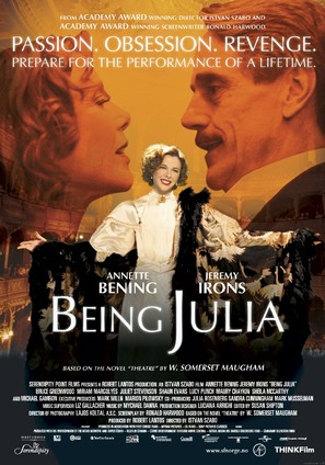 Being Julia - Norwegian Movie Poster (thumbnail)