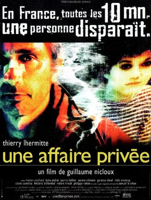 Une affaire privée - French Movie Poster (thumbnail)