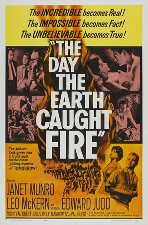 The Day the Earth Caught Fire - Theatrical movie poster (thumbnail)