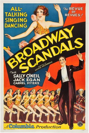 Broadway Scandals - Movie Poster (thumbnail)