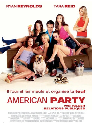 Van Wilder - French Movie Poster (thumbnail)