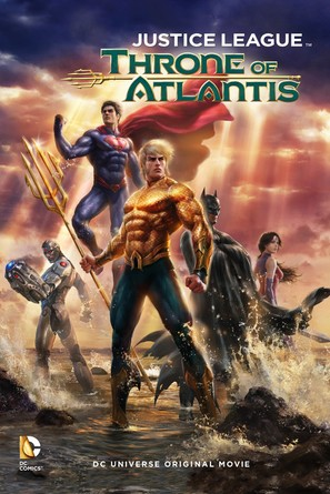 Justice League: Throne of Atlantis - Movie Cover (thumbnail)