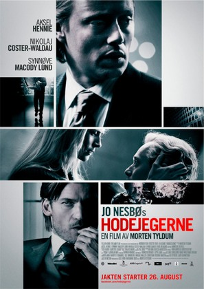Hodejegerne - Norwegian Movie Poster (thumbnail)