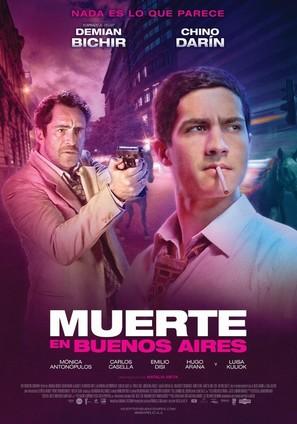 Muerte en Buenos Aires - Argentinian Movie Poster (thumbnail)