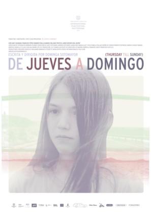 De jueves a domingo - Chilean Movie Poster (thumbnail)