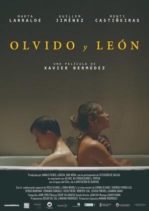 Olvido y León - Spanish Movie Poster (thumbnail)