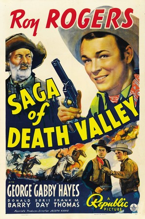 Saga of Death Valley - Movie Poster (thumbnail)