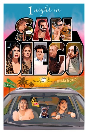 1 Night in San Diego - Movie Poster (thumbnail)