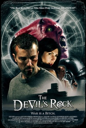 The Devil's Rock - New Zealand Movie Poster (thumbnail)