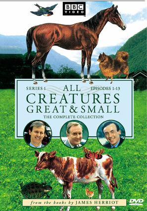 """""""All Creatures Great and Small"""" - DVD movie cover (thumbnail)"""