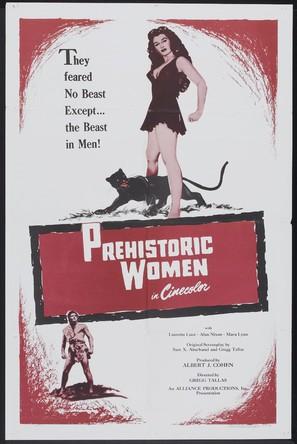 Prehistoric Women - Movie Poster (thumbnail)