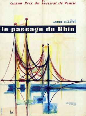 Passage du Rhin, Le - French Movie Poster (thumbnail)