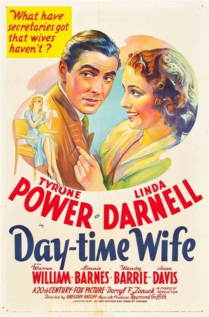 Day-Time Wife - Movie Poster (thumbnail)