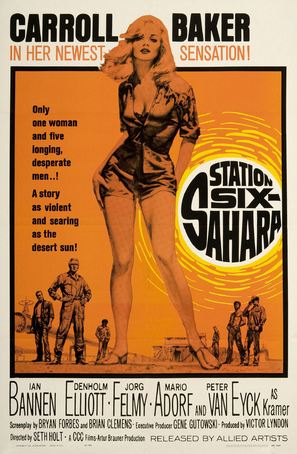 Station Six-Sahara - Movie Poster (thumbnail)