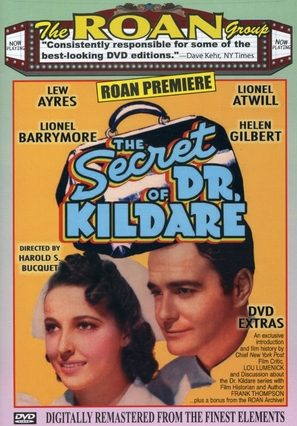 The Secret of Dr. Kildare - DVD movie cover (thumbnail)