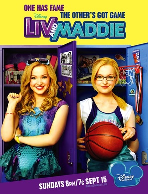 """Liv & Maddie"" - Movie Poster (thumbnail)"