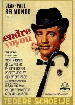 Tendre voyou - Belgian Movie Poster (thumbnail)