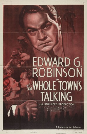 The Whole Town's Talking - Movie Poster (thumbnail)