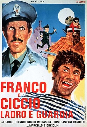 Franco e Ciccio... ladro e guardia