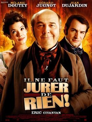 Il ne faut jurer... de rien! - French Movie Poster (thumbnail)
