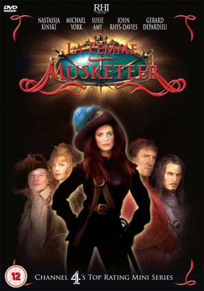 La Femme Musketeer - British Movie Cover (thumbnail)