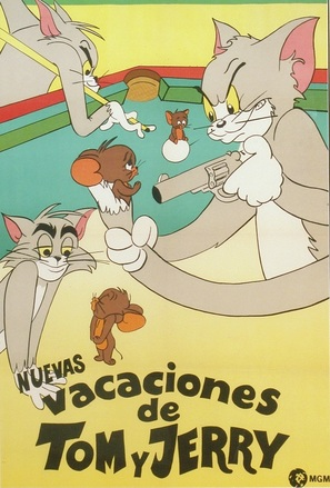 """""""Tom and Jerry"""" - Mexican Movie Poster (thumbnail)"""