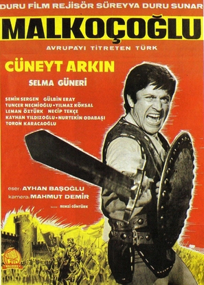 Malkoçoglu - Turkish Movie Poster (thumbnail)