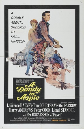 A Dandy in Aspic - Movie Poster (thumbnail)