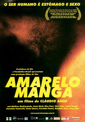 Amarelo manga - Brazilian Movie Poster (thumbnail)