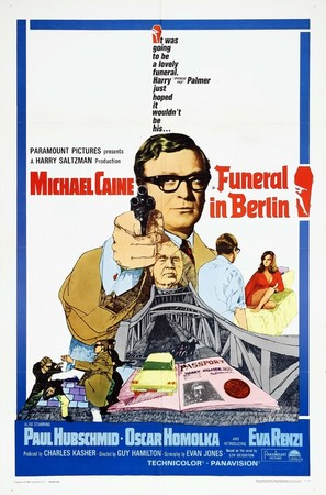Funeral in Berlin - Movie Poster (thumbnail)