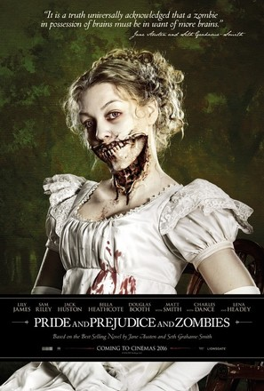 Pride and Prejudice and Zombies - Movie Poster (thumbnail)