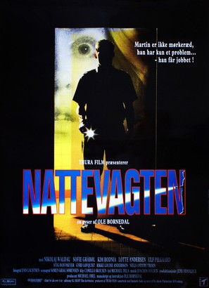 Nattevagten - Danish Movie Poster (thumbnail)