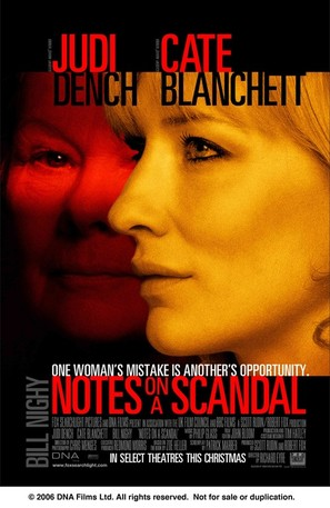 Notes on a Scandal - Movie Poster (thumbnail)