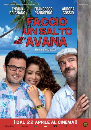 Faccio un salto all'Avana - Italian Movie Poster (thumbnail)