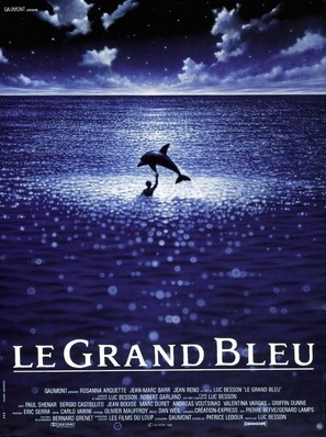 Le grand bleu - French Movie Poster (thumbnail)