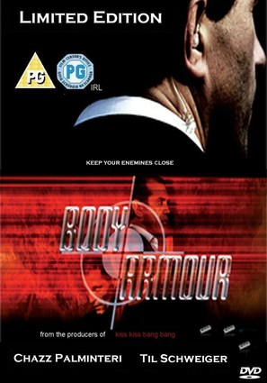 Body Armour - British DVD movie cover (thumbnail)