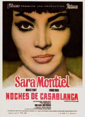 Noches de Casablanca - Spanish Movie Poster (thumbnail)