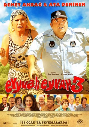 Eyyvah Eyvah 3 - Turkish Movie Poster (thumbnail)